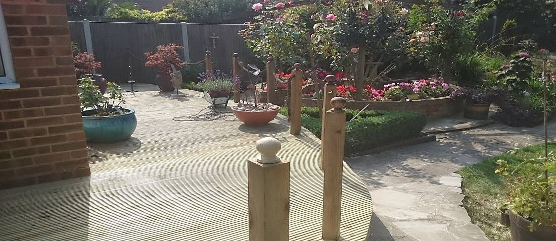 Decking by P & Sees Landscape Gardeners