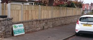 Fencing by P & Sees Landscape Gardeners