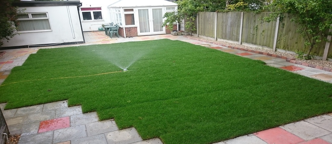 Turfing by P & Sees Landscape Gardeners